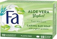 """Fa Yoghurt Aloe Vera Cream Soap - Крем сапун с алое вера от серията """"Yoghurt"""" - продукт"""