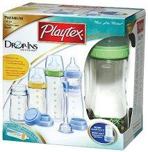 Комплект за новородено - Premium Nurser - С шишета, биберони и аксесоари -