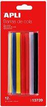 Цветни силиконови пръчки - Консуматив за пистолет за топло лепене - продукт