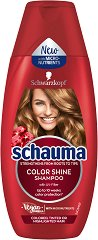 Schauma Color Shinе Shampoo - Шампоан за защита на цвета на боядисана коса -