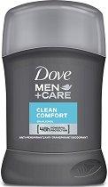 Dove Men+Care Clean Comfort Anti-Perspirant - дезодорант