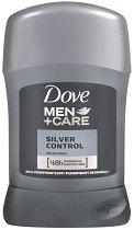 """Dove Men+Care Silver Control Anti-Perspirant - Део стик против изпотяване за мъже от серията """"Men+Care"""" - гел"""