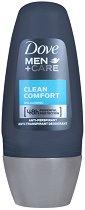 """Dove Men+Care Clean Comfort Anti-Perspirant - Ролон против изпотяване за мъже от серията """"Men+Care Clean Comfort"""" - сапун"""