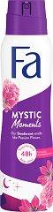Fa Mystic Moments Deodorant - Дамски дезодорант с аромат на пасифлора - паста за зъби