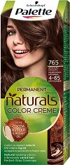 Palette Natural Colors - Подхранваща трайна крем боя за коса - паста за зъби