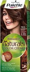 Palette Natural Colors - Подхранваща трайна крем боя за коса - душ гел