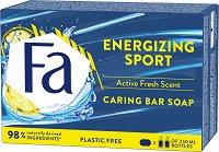 """Fa Sport Energizing Fresh Bar Soap - Хидратиращ сапун с гинко билоба от серията """"Sport"""" - тоалетно мляко"""