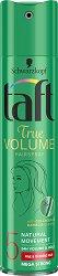 Taft True Volume Mega Strong Hairspray - Лак за коса за обем с мега силна фиксация - шампоан