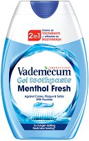 Vademecum 2 in 1 Menthol Fresh Gel Toothpaste - Течна паста за зъби -