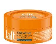Taft Looks Creative Look Modelling Wax - Вакса за коса за екстра силна фиксация - пяна