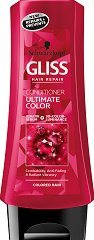 Gliss Ultimate Color Conditioner - Балсам за боядисана и изрусена коса - боя