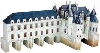 Замъкът Шенонсо, Франция - 3D пъзел - пъзел