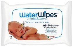 Бебешки мокри кърпички - WaterWipes - лосион