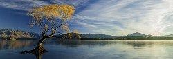 "Езерото Уанака - панорама - Колекция ""Александър Фон Хумболт"" (Alexander von Humboldt) -"