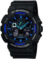 "Часовник Casio - G-Shock GA-100-1A2ER - От серията ""G-Shock"""