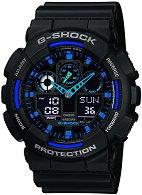 Часовник Casio - G-Shock GA-100-1A2ER
