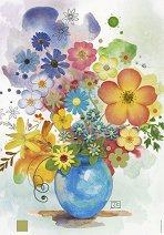 Синя ваза - Джейн Кроутър (Jane Crowther) - пъзел