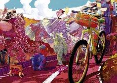 """Тур в розово - Колекция """"Bike Art"""" -"""