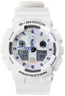 """Часовник Casio - G-Shock GA-100A-7AER - От серията """"G-Shock"""""""