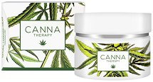 Canna Therapy Natural Cannabis Cream - Подмладяващ крем за лице с био канабис - крем
