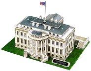 Белият дом, Вашингтон - 3D пъзел - пъзел