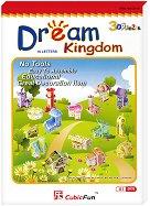 Мечтаното кралство - Комплект от мини 3D пъзели на къщички -