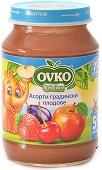Пюре от градински плодове - Асорти - Бурканче от 190 g за бебета над 5 месеца - продукт