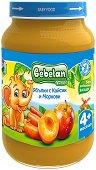 Пюре от кайсии, ябълки и моркови - Бурканче от 190 g за бебета над 4 месеца - продукт
