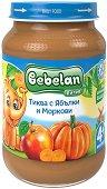 Bebelan Puree - Пюре от тиква с ябълки и моркови - продукт