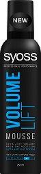 """Syoss Volume Lift Mousse - Пяна за коса за обем и дълготрайна фиксация от серията """"Volume Lift"""" -"""