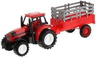 Трактор с ремарке - Детска играчка - кукла
