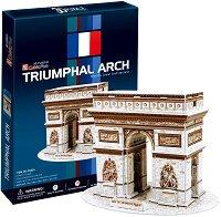 Триумфалната арка, Франция - 3D пъзел -