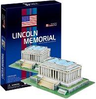 Мемориалът на Линкълн, Вашингтон - 3D пъзел -
