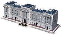 Бъкингамският дворец - 3D пъзел - пъзел