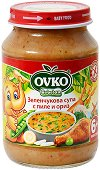 Ovko - Зеленчукова супа с пилешко и ориз -