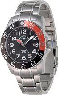 Часовник Zeno-Watch Basel - Black + Orange 6350Q-a1-5M
