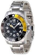 Часовник Zeno-Watch Basel - Black + Yellow 6350Q-a1-9M