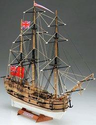 Барк - Endeavour - Сглобяем модел на кораб от дърво -