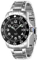 """Часовник Zeno-Watch Basel - Black 6350Q-a1M - От серията """"Airplane Diver II"""""""