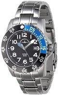 Часовник Zeno-Watch Basel - Black + Blue 6350Q-a1-4M