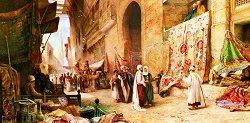 Пазар за килими в Кайро - пъзел