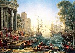 Пристанище - Клод Лорен (Claude Lorrain) - пъзел