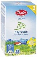 Преходно мляко - Lactana Bio 2 - Опаковка от 600 g за бебета от 6 до 10 месеца - продукт