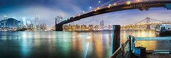 Бруклинският мост - панорама -