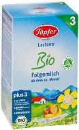 Преходно мляко - Lactana Bio 3 - Опаковка от 600 g за бебета над 10 месеца -