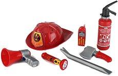 Стани пожарникар - Детски комплект за игра - детски аксесоар