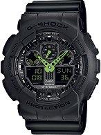 "Часовник Casio - G-Shock GA-100C-1A3ER - От серията ""G-Shock"""