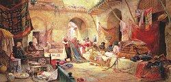 Пазар за килими - Чарлс Робъртсън (Charles Robertson) - пъзел
