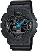 """Часовник Casio - G-Shock GA-100C-8AER - От серията """"G-Shock"""""""