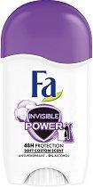 Fa Invisible Power Anti-Perspirant Stick - Дамски стик дезодорант против изпотяване -
